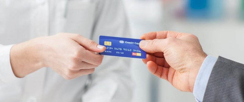 handling a credit card