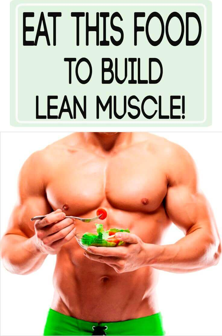 muscle builder eating