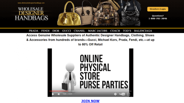 Wholesale Designer Handbag Directory Review – Must Knowing Before You Buy 256c35820da39