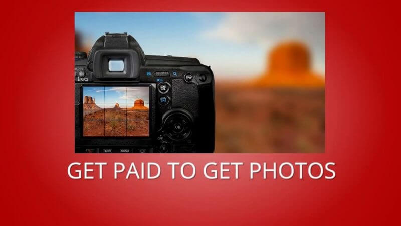 get paid to get photos