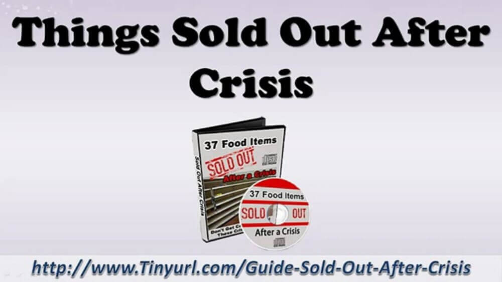 sold out after crisis review