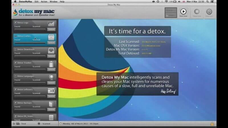 detox my mac review screenshot