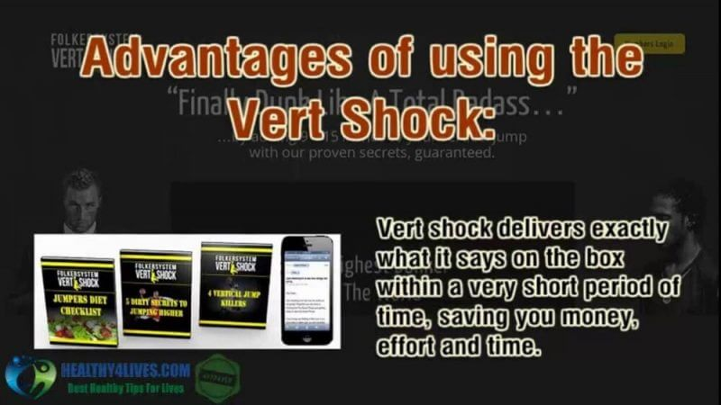 advantages of the vert shock review