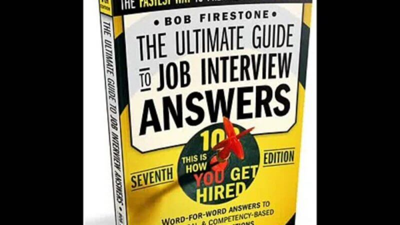 the ultimate guide to job interview answers product