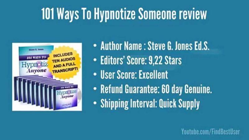101 ways to hypnotize anyone