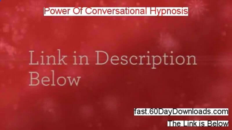 powwer of converstational hypnosis review