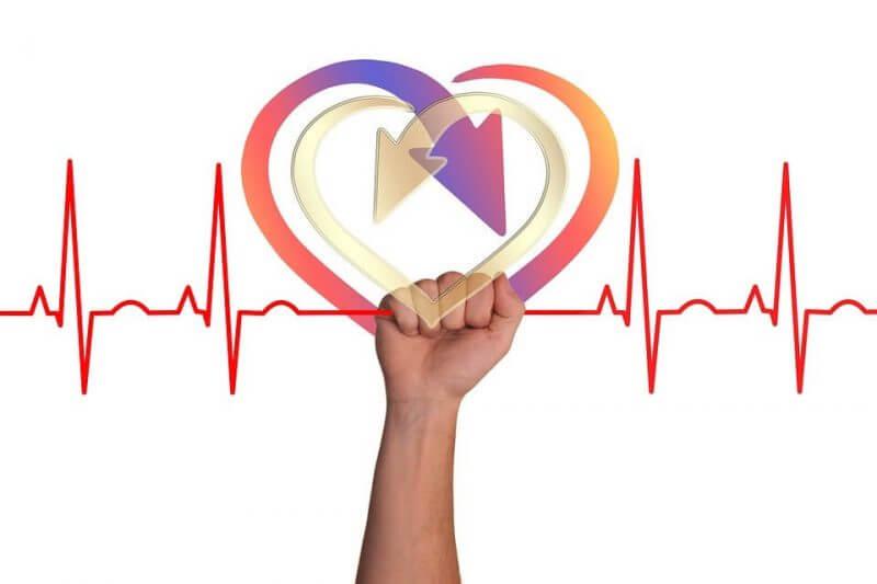 heart shaped drawing