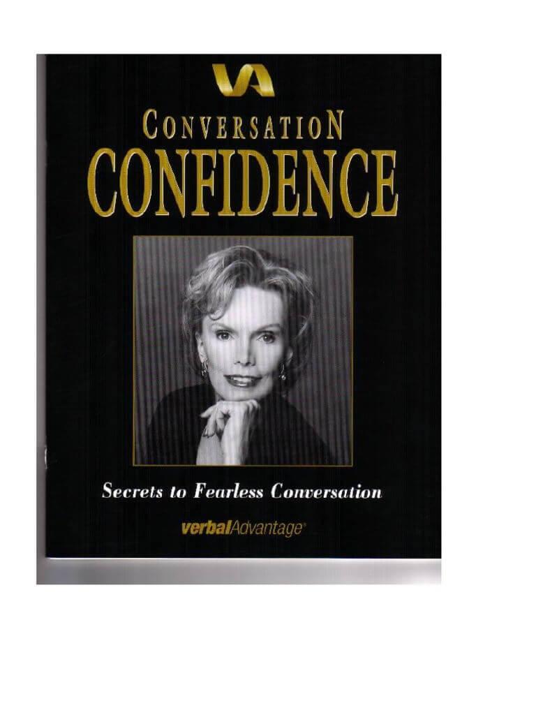conversation confidence