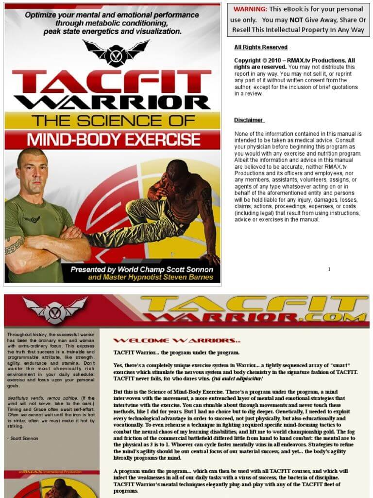 TACFIT Warrior Review – Does It Work or Not?