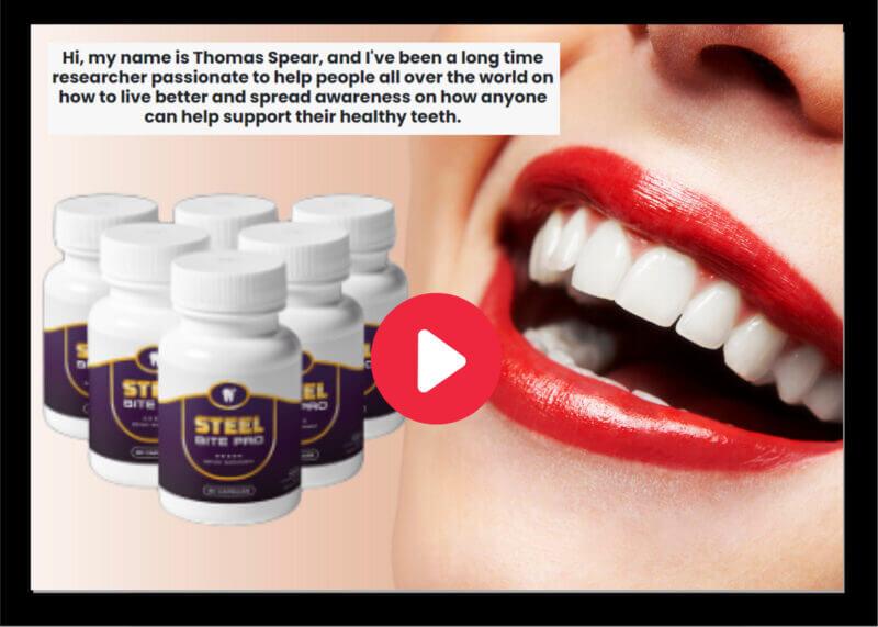 Steel bite Pro Click here for whiter teeth