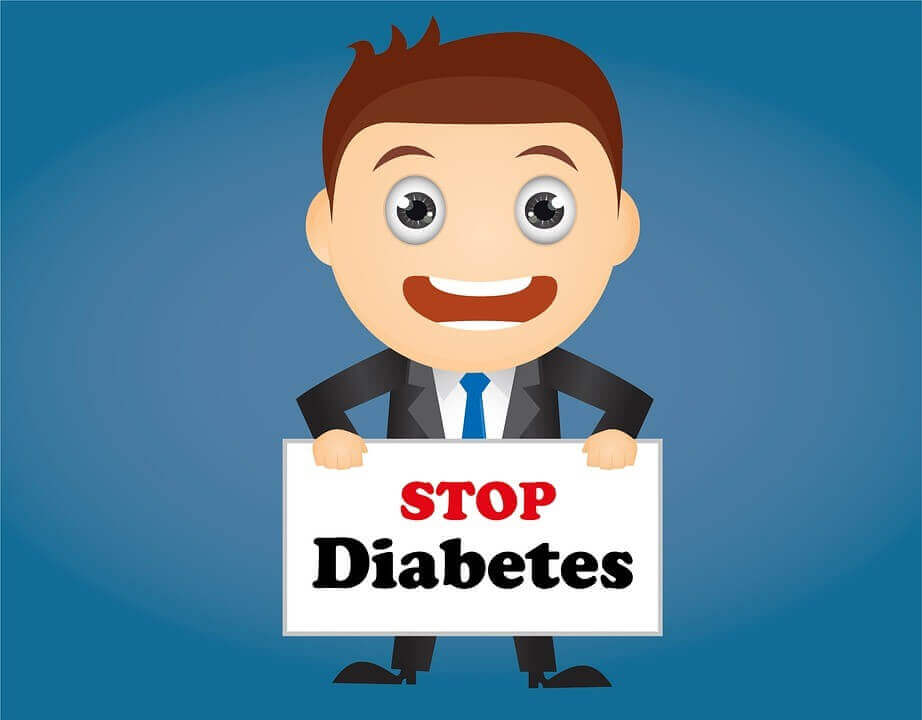 stop diabetes poster