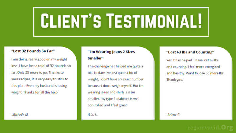 28-Day Keto Challenge Client's Testimonial