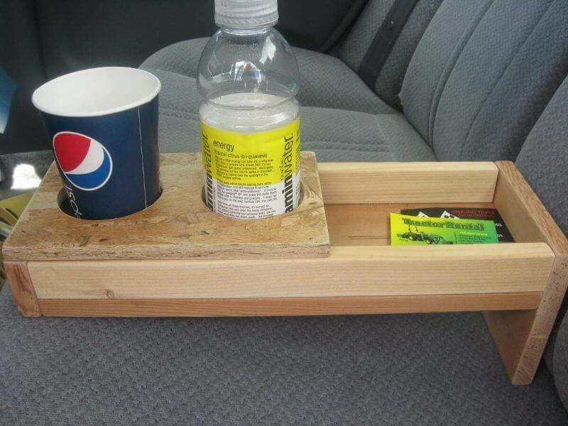 well made wooden rack