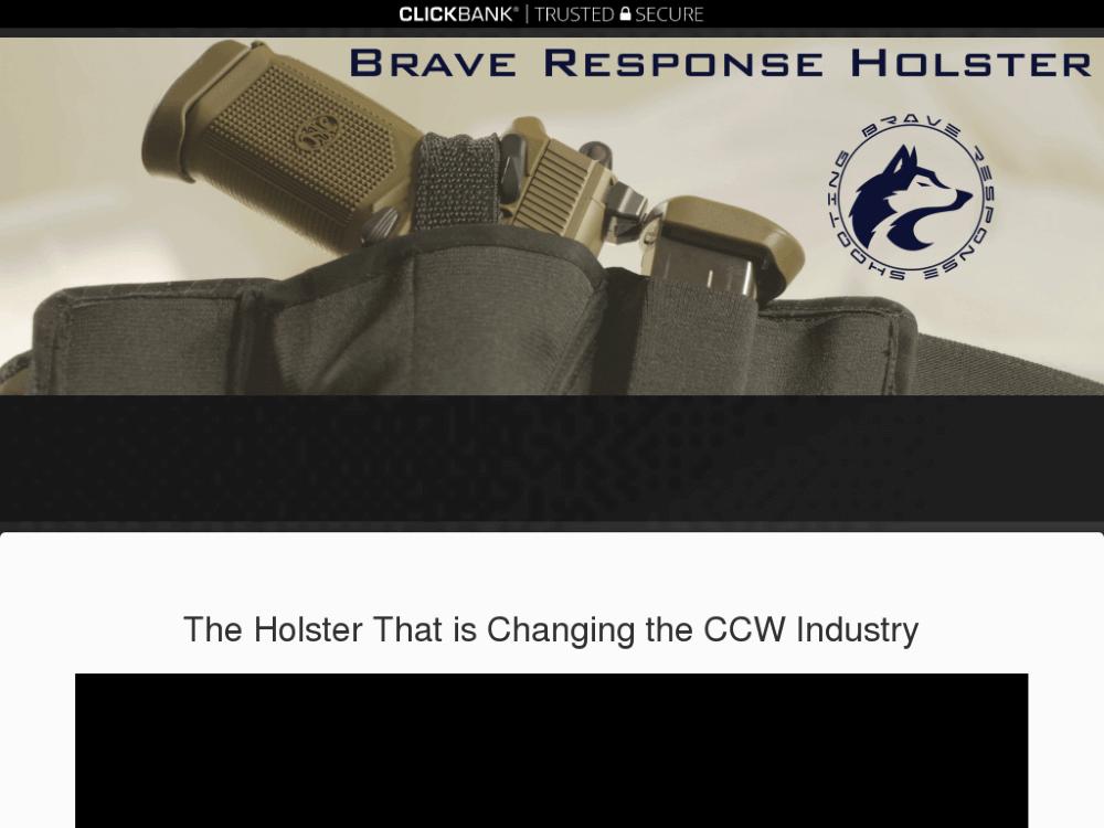 Brave Response Holster