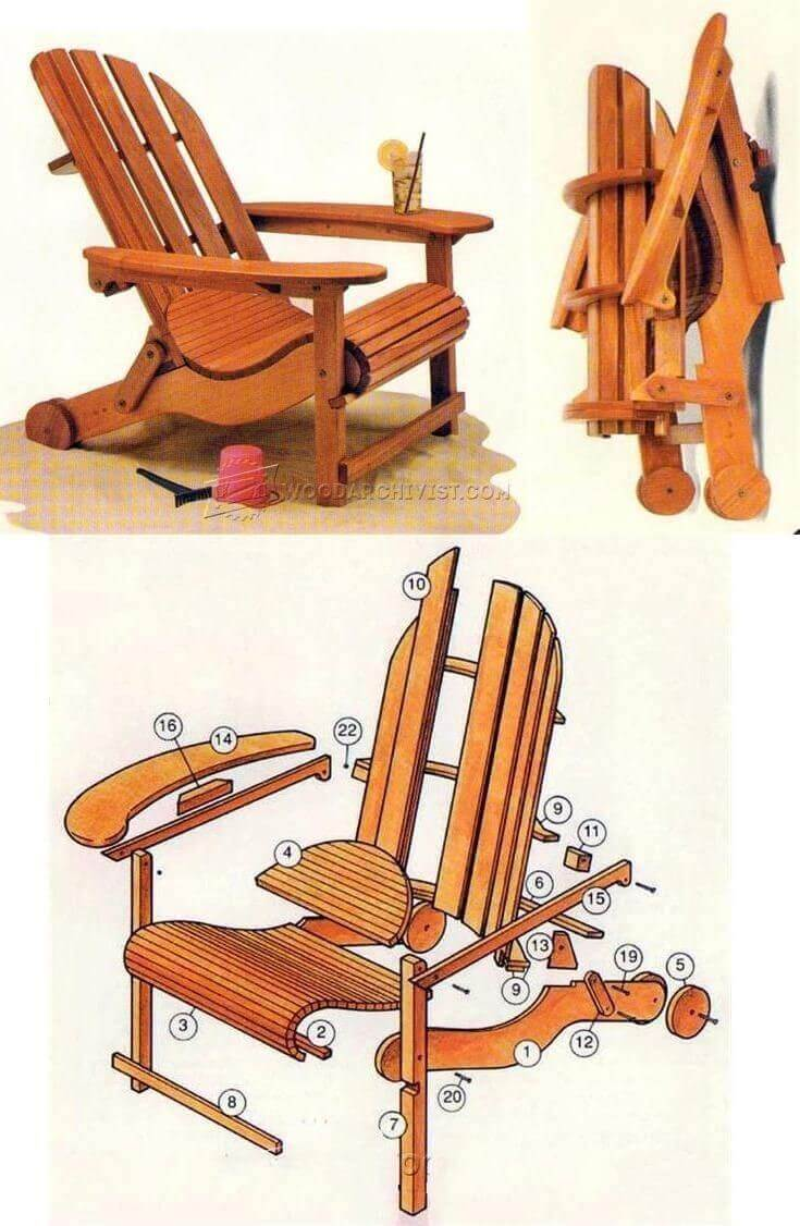 wood designs for chairs