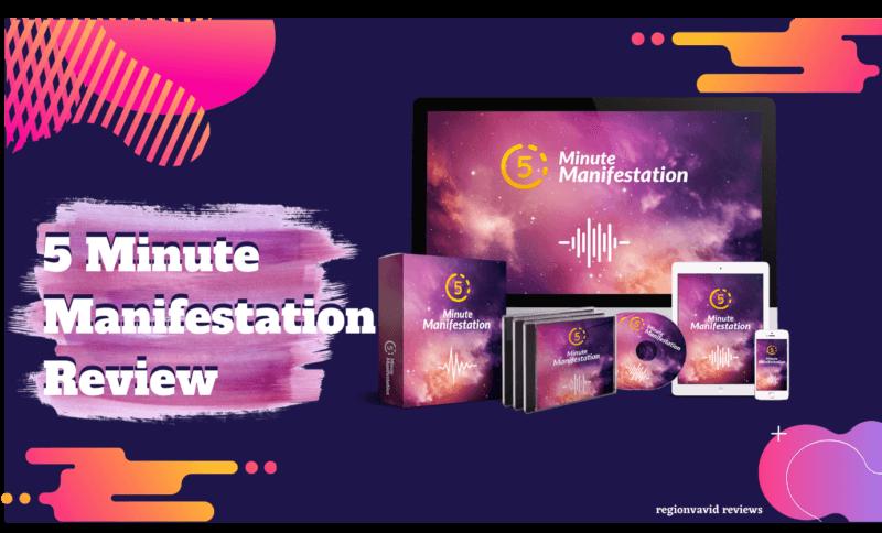 5 Minute Manifestation Digital Products