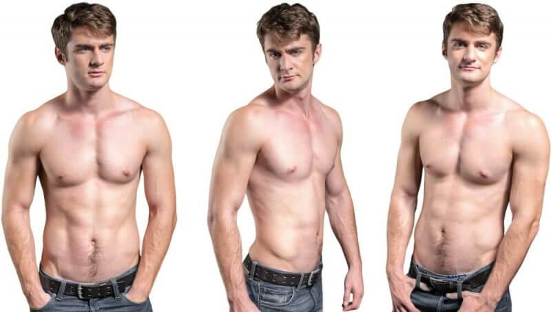 man body change