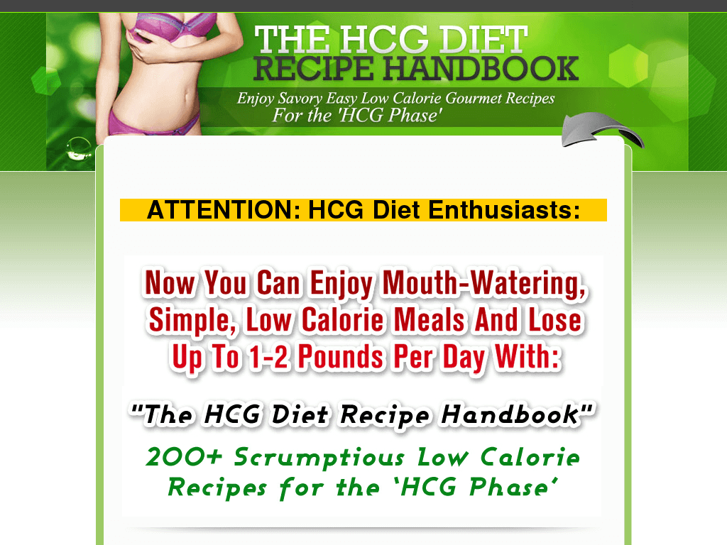 the hcg diet recipe handbook