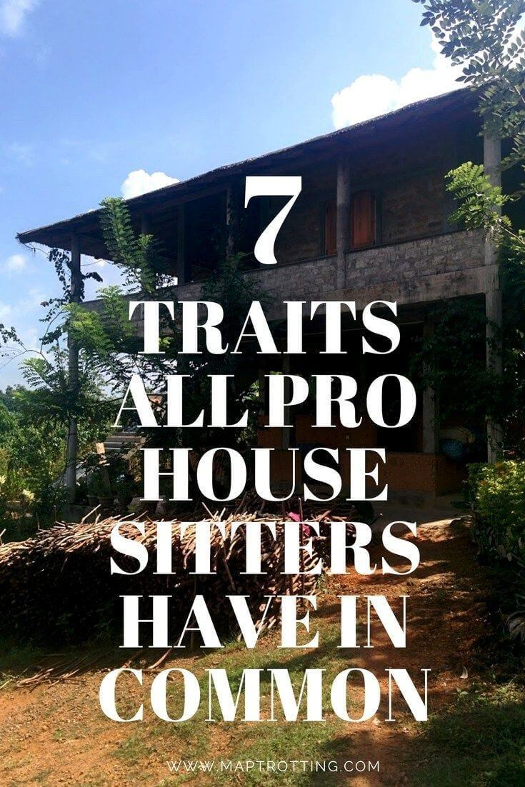 7 traits all pro house sitters have in common