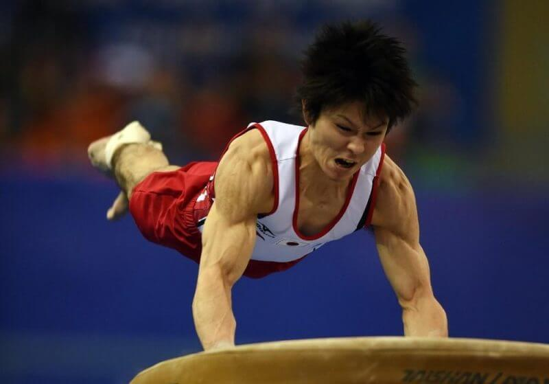 gymnastic man