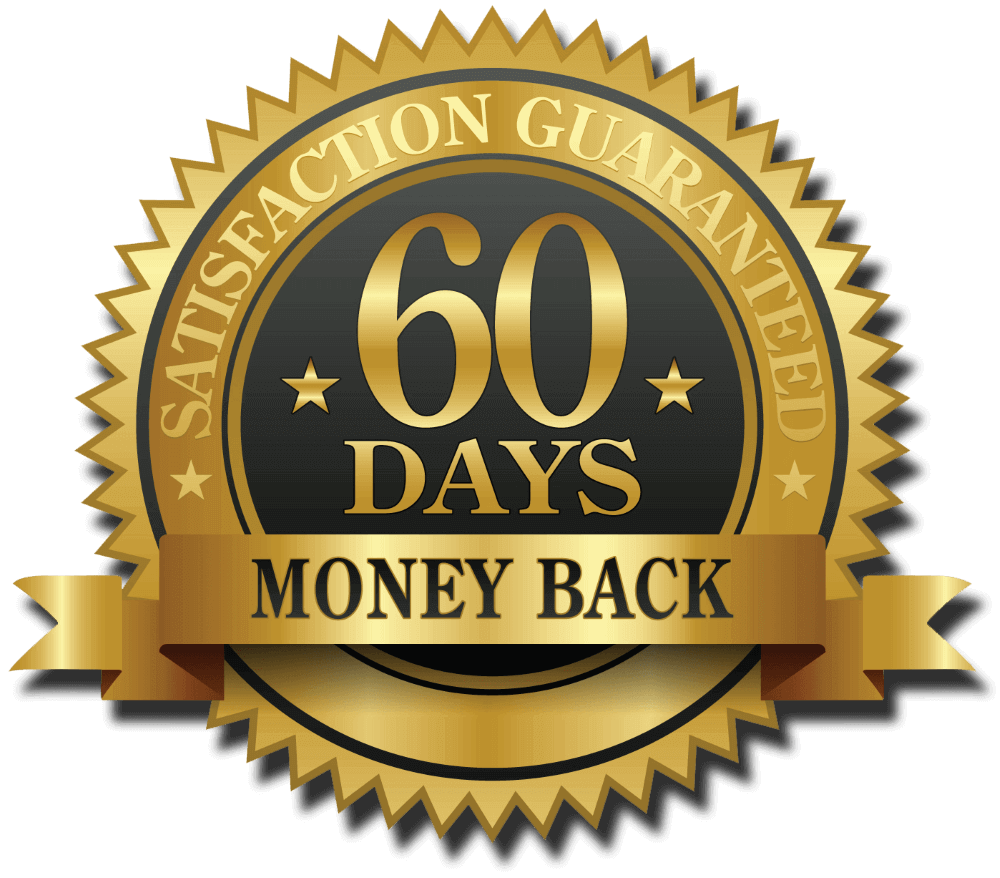 60 days money back guarantee logo