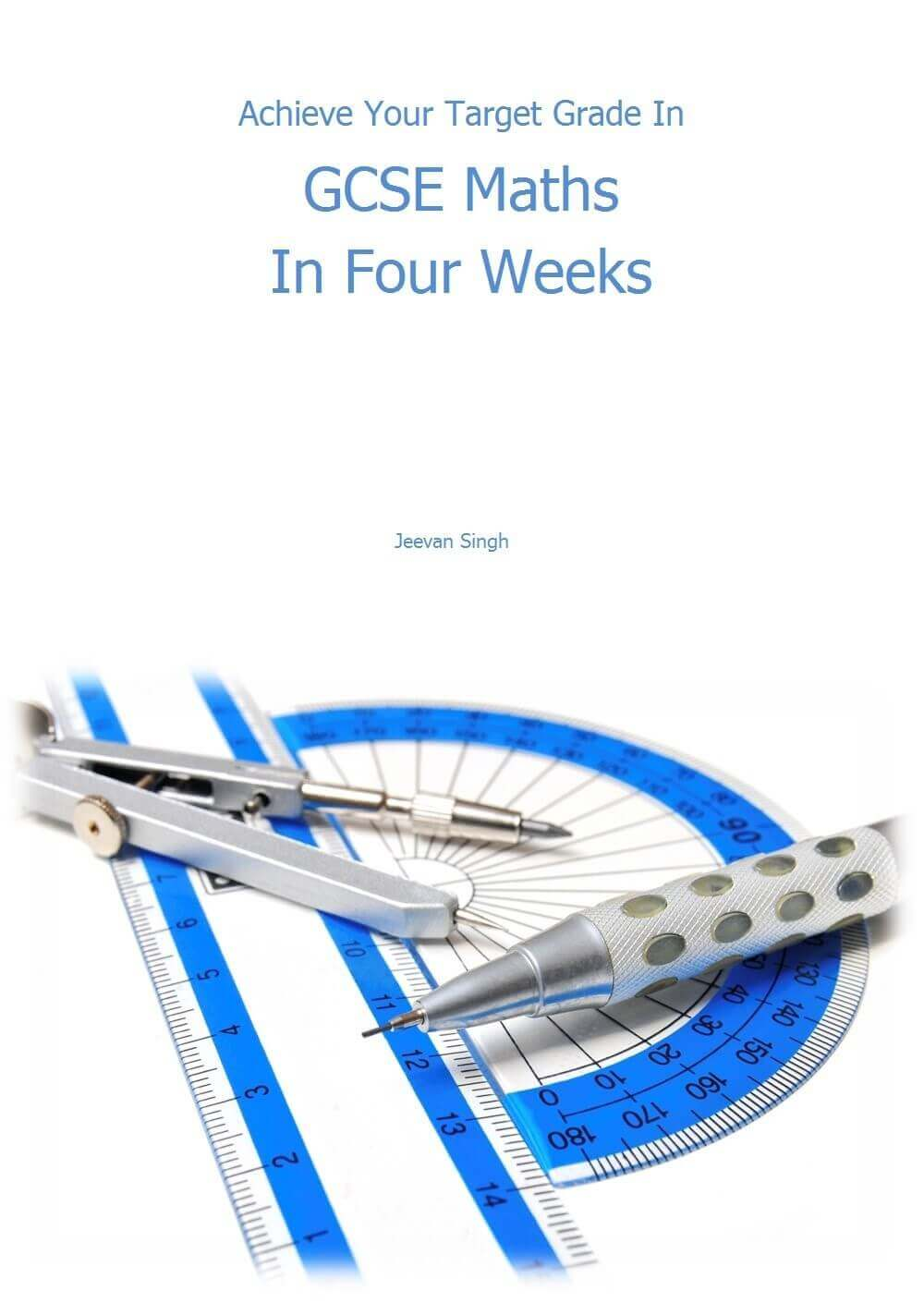 achieve your target grade om GCSE maths in four weeks