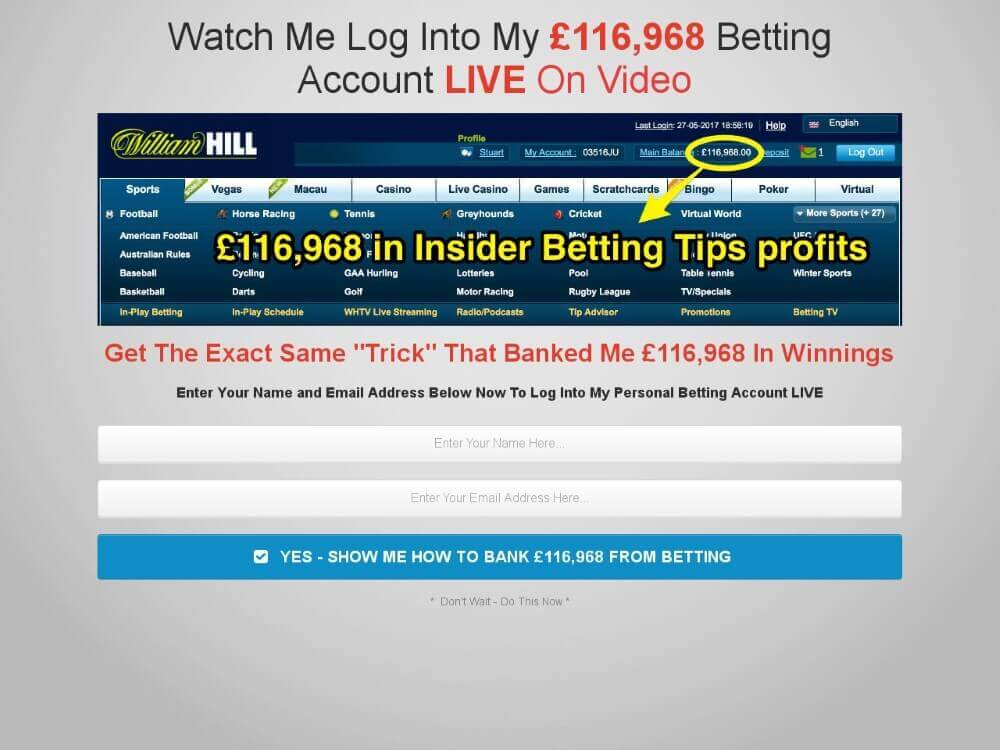 insider betting tips