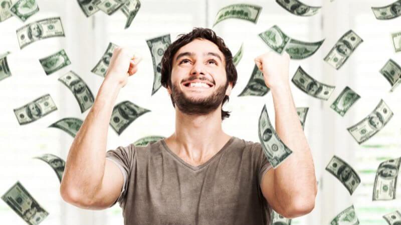 money man happy