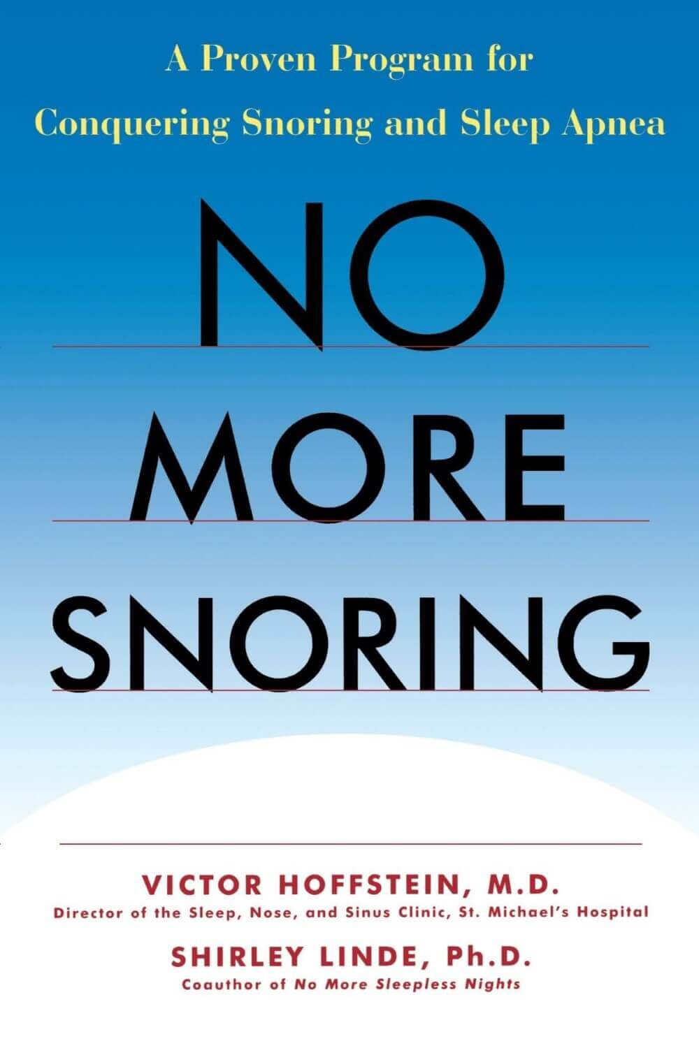 no more snoring words