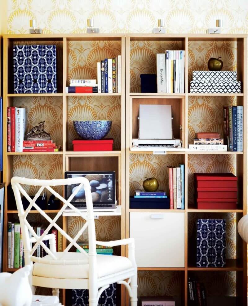 well arranged books