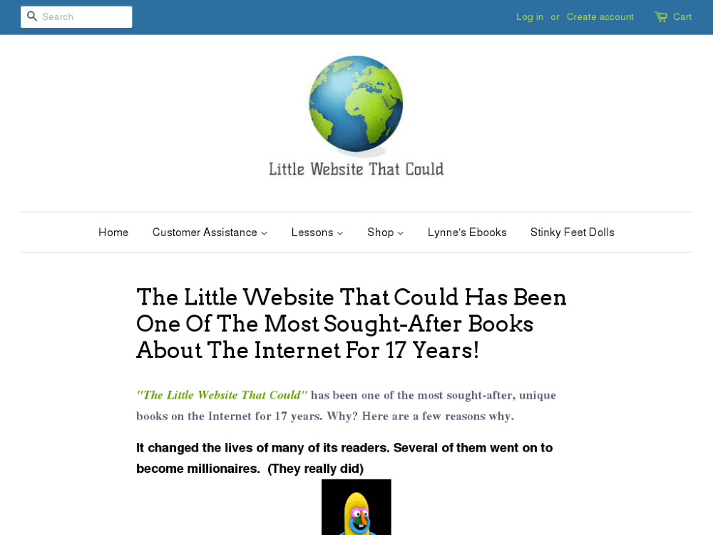 the little website that could review