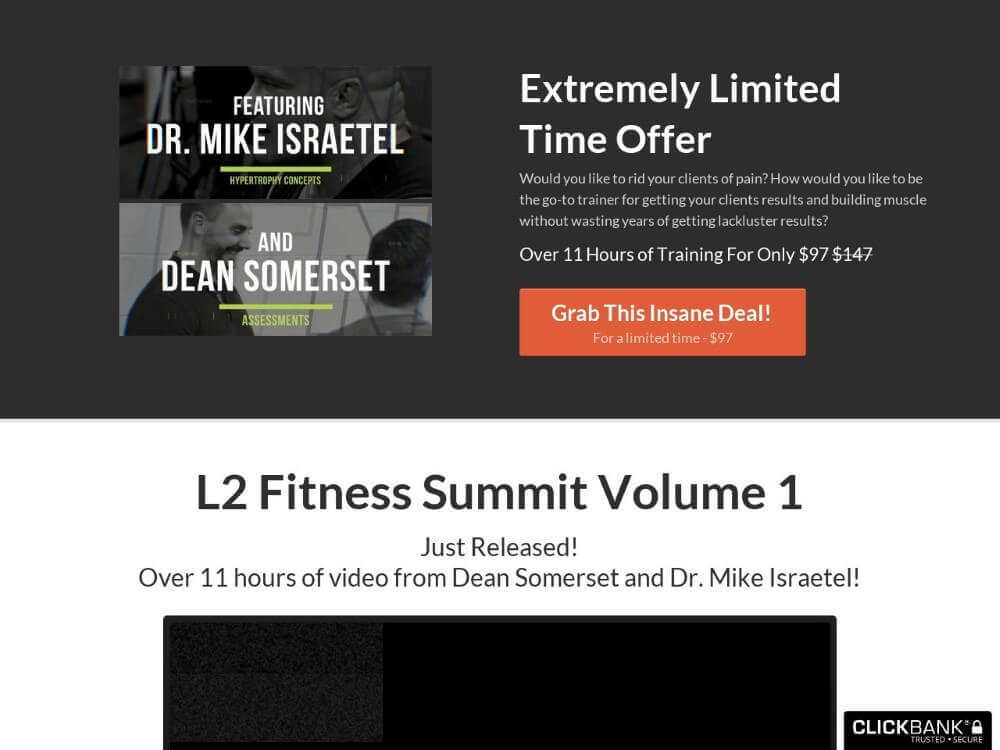 L2 fitness summit