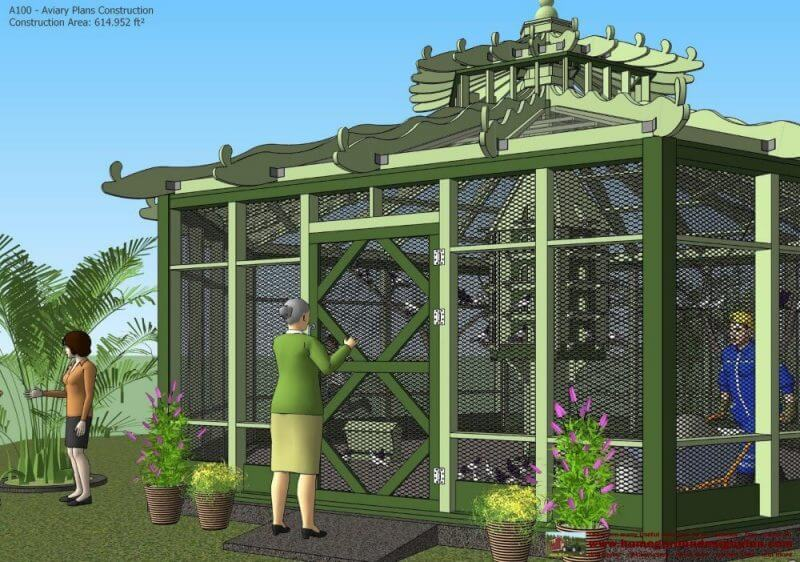 how to build an indoor aviary