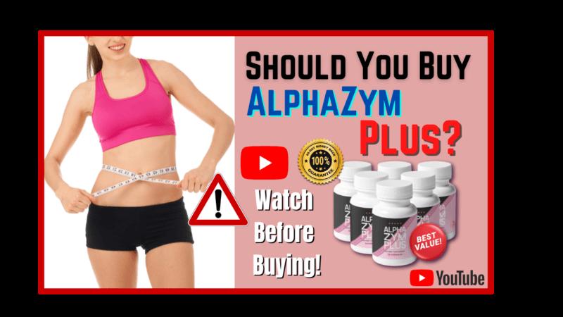 AlphaZym Plus Effective Lose Weight Supplement