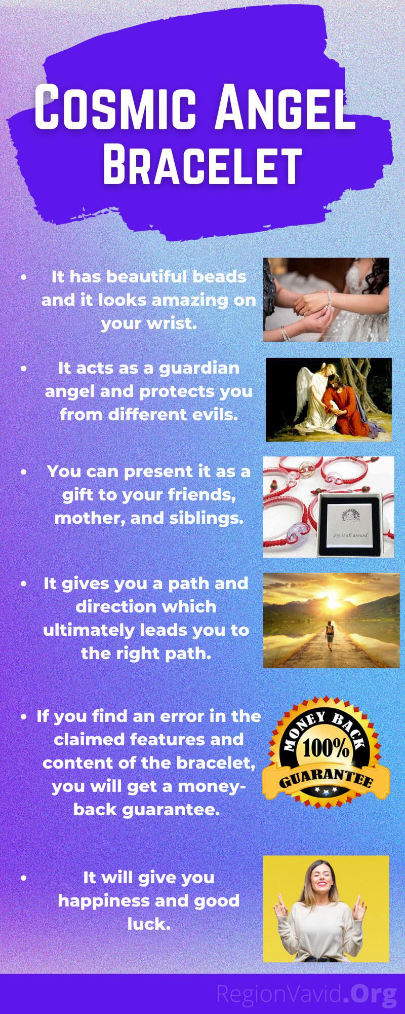 Cosmic Angel Bracelet What You Get