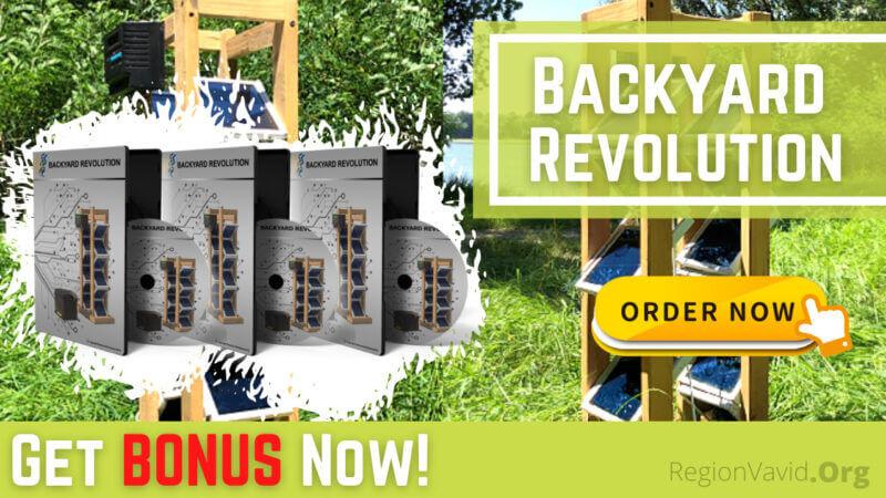 Backyard Revolution Get it Now To Get The BONUS
