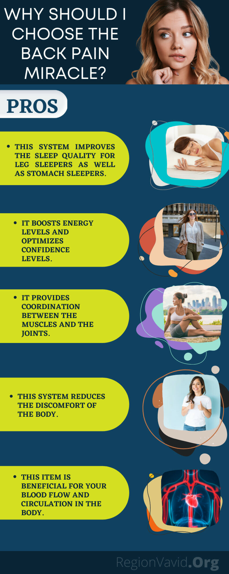 The Back Pain Miracle Benefit