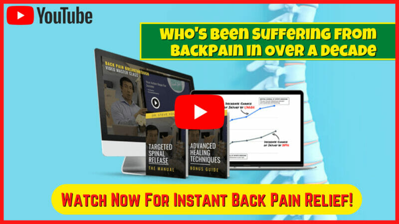 The Back Pain Breakthrough Review - Works or Just a SCAM?
