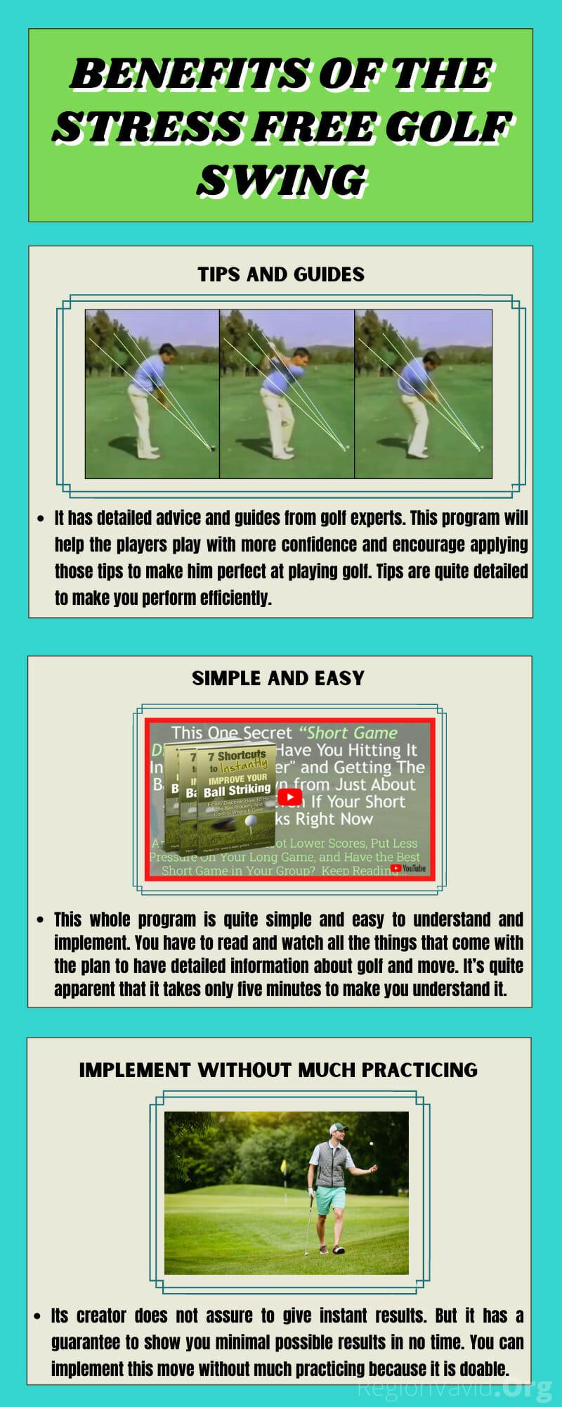 Stress Free Gold Swing Benefits