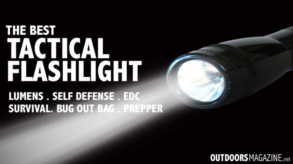 image of a tactical flashlight