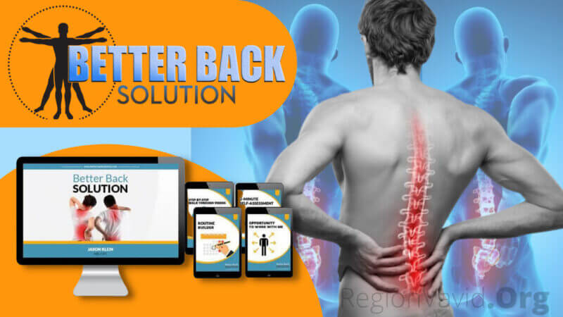 Better Back Solution Ease Your Back Pain
