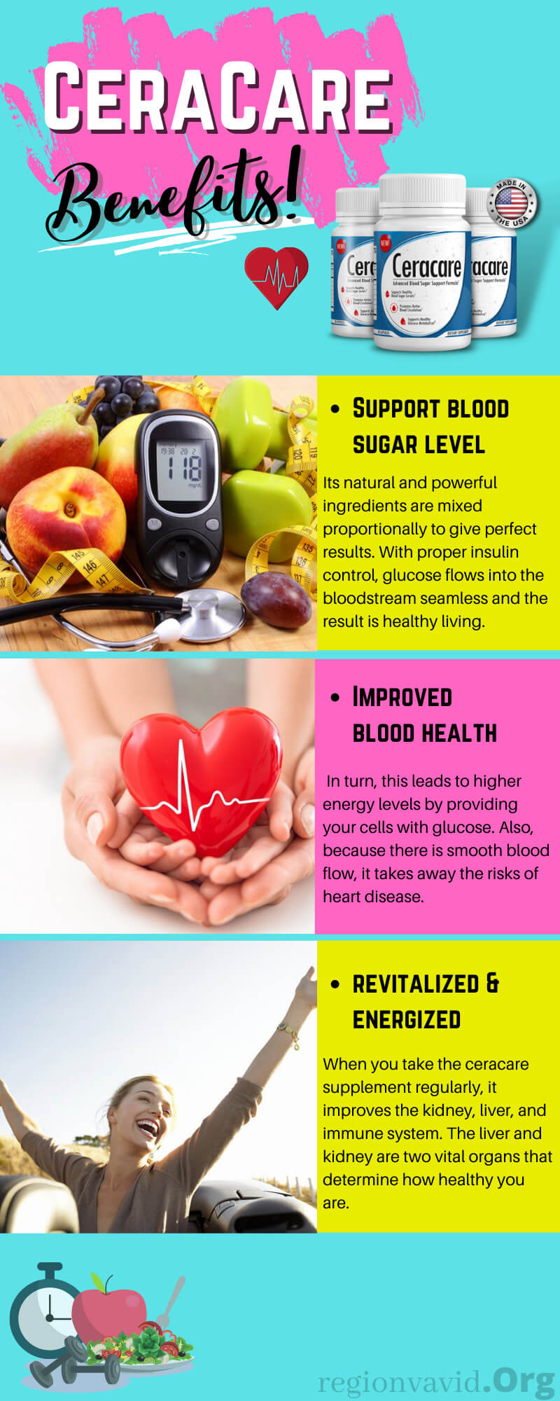Ceracare Suplements Benefits