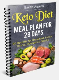 Ketogenic Diet 101 meal plan for 28 days cover