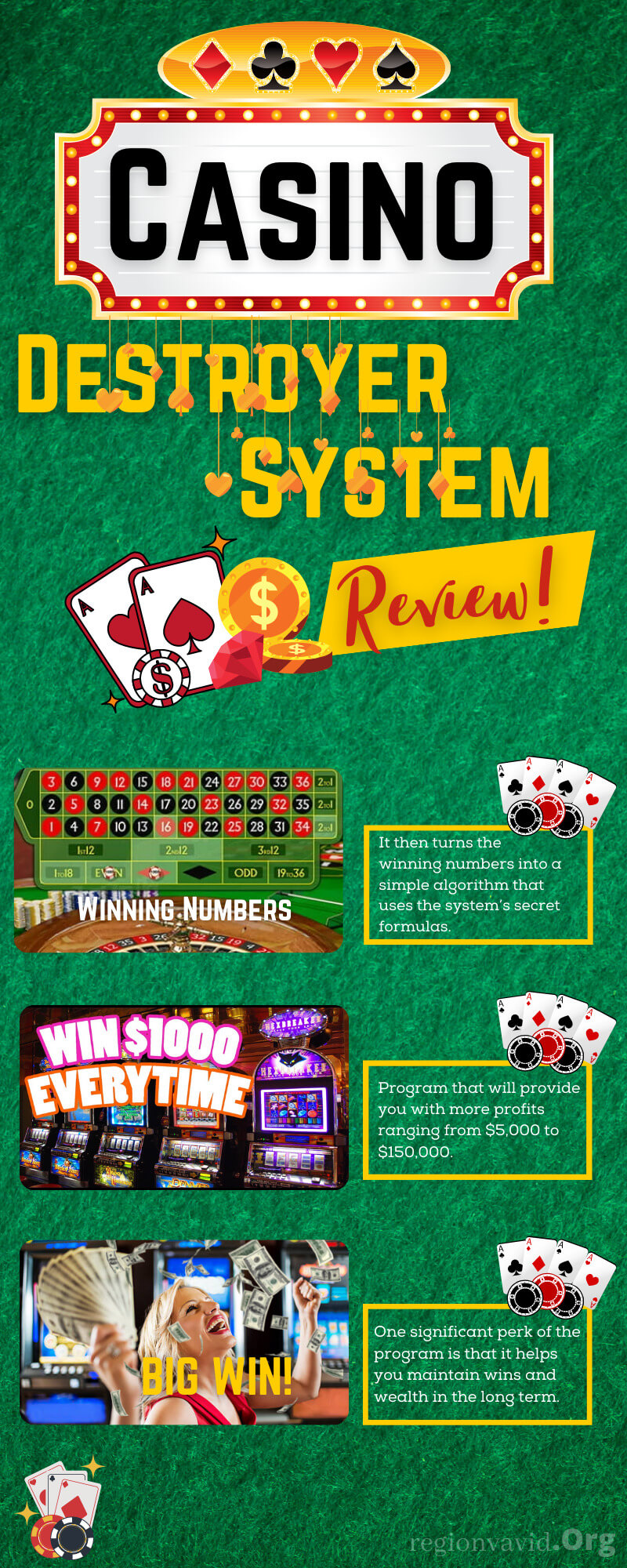 Casino Destroyer System How to win