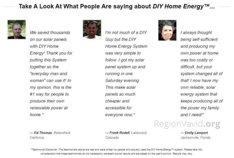 DIY Home Energy Testimonial