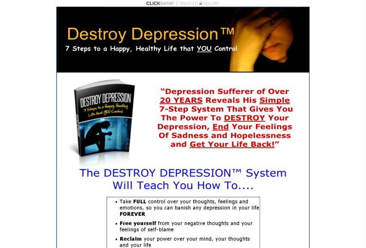 Destroy Depression Review