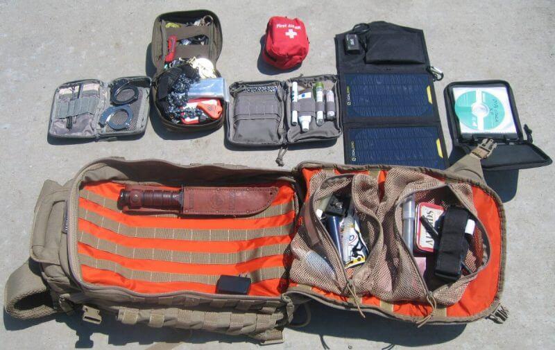 open survival kit
