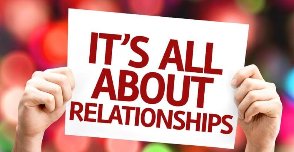its all about relationships