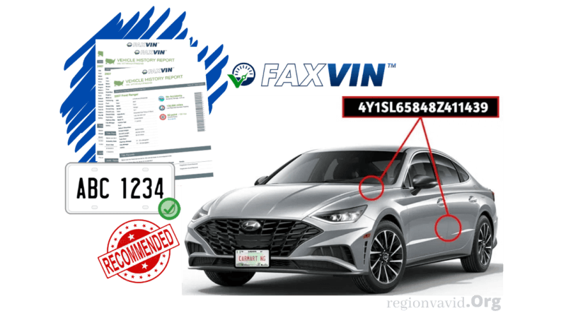 FAXVIN How To Check VIN