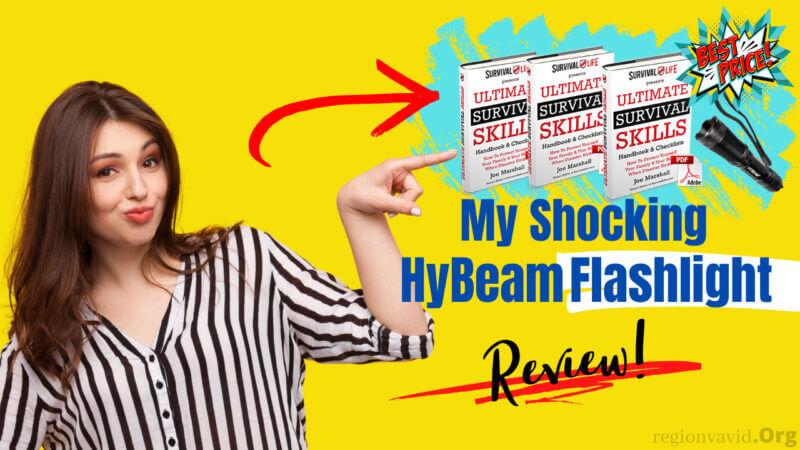 HyBeam Flashlight Featuring Product Effectivity